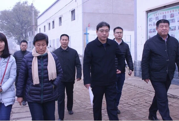 河北省能源局副局长董士党考察万博app苹果版下载豆家庄煤改电项目