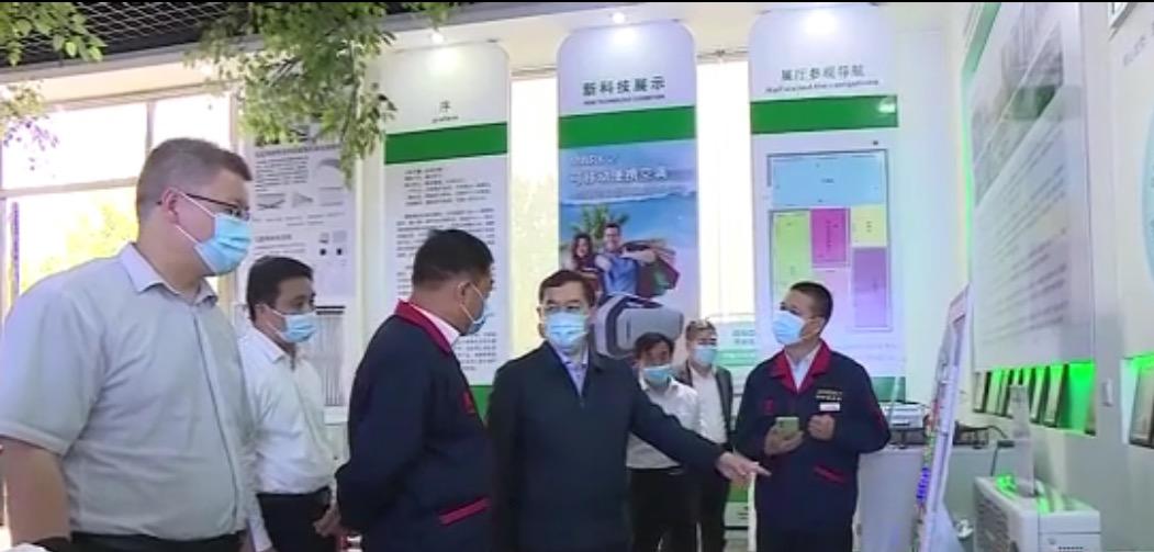 省委常委、石家庄市委书记张超超到万博最新app公司考察调研